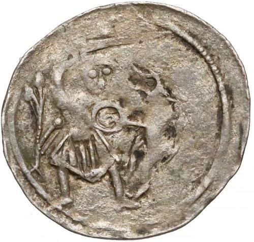 Władysław II Wygnaniec, Denar - Walka z lwem