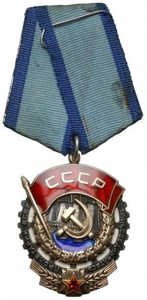 ZSRR, Order Czerwonego sztandaru pracy (3i)