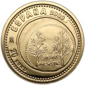 Hiszpania, 20 euro 2008 - Aureus