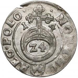 Zygmunt III Waza, Półtorak Bydgoszcz 1614 - trójlistek