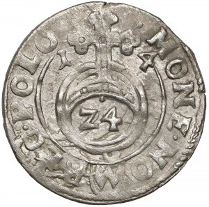 Zygmunt III Waza, Półtorak Bydgoszcz 1614 - przebitka