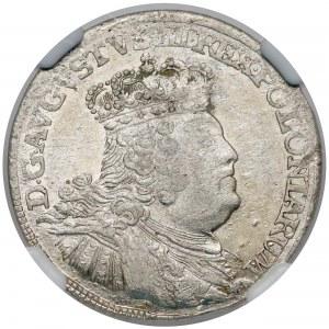 August III Sas, Szóstak Lipsk 1756 EC -