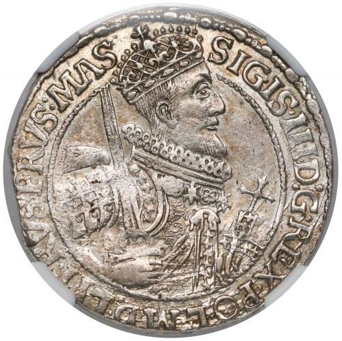 Zygmunt III Waza, Ort Bydgoszcz 1621 - PRVS.MAS - NGC AU58