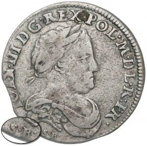 Jan III Sobieski, Szóstak Bydgoszcz 1677 SB - rzadki