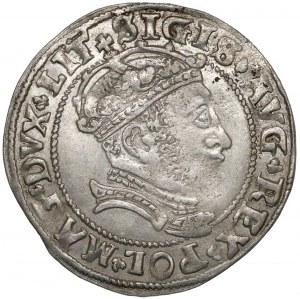 Zygmunt II August, Grosz na stopę litewską 1546 - ŁADNY