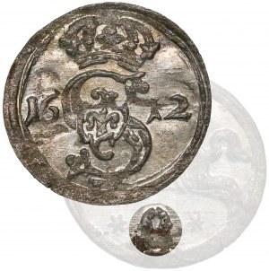 Zygmunt III Waza, Dwudenar Wilno 1621 - błędna data 1612 - RZADKI