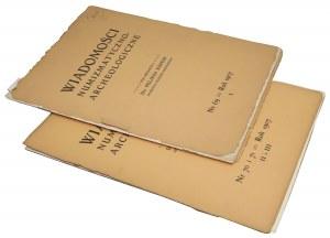 Wiadomości Numizmatyczno-Archeologiczne, Rok 1907 nr 1, 2-3