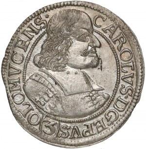 Austria, Ołomuniec, 3 krajcary 1670 - mennicze