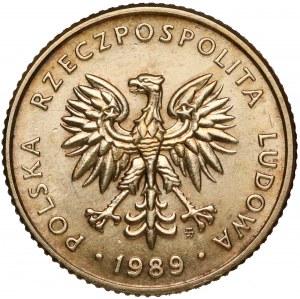 Próba MOSIĄDZ 10 złotych 1989 - nakład 10 szt. - RZADKOŚĆ