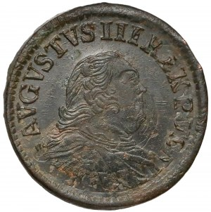 August III Sas, Grosz Gubin 1758 - rzadki