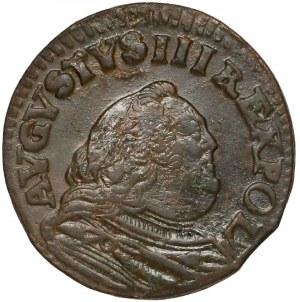 August III Sas, Grosz Gubin 1755 - litera H