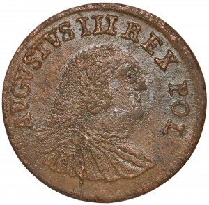August III Sas, Grosz Grunthal 1754 - cyfra 3