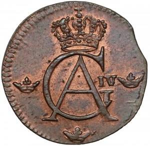 Szwecja, Gustaw IV Adolf, 1/12 skilling 1808