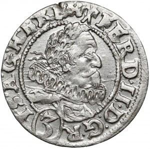 Śląsk, Ferdynand II, Wrocław, 3 krajcary 1628 HR
