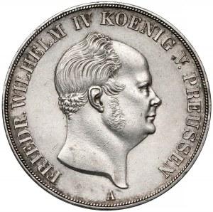 Prusy, Fryderyk Wilhelm IV, Dwutalar = 3-1/2 guldena 1856-A
