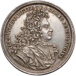 August II Mocny, Medal Wolfgang Dieter von Beichlingen 1702 r.