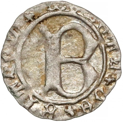 Ks. Bytomskie, Bolesław I (1410-1431) Halerz - litera B