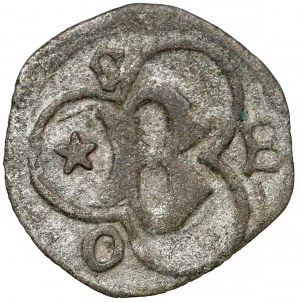 Ks. Cieszyńskie, Bolesław I (1410-1431) Halerz Cieszyn - litera B