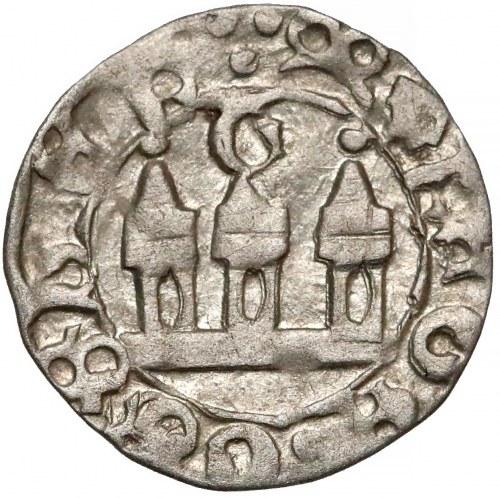 Ks. Cieszyńskie, Eufemia z synami (1431-1440?) Halerz Cieszyn - SREBRO