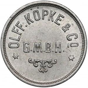 Breslau (Wrocław), Olff. Köpke & Co, G.M.B.H, 100 (fenigów) - nieopisany typ