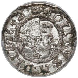 Jan II Kazimierz, Szeląg Wilno 1652 - PCGS MS64