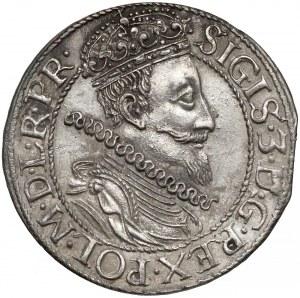 Zygmunt III Waza, Ort Gdańsk 1611 - dwa punkty przy łapie (R3)