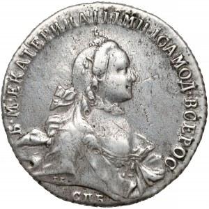 Rosja, Katarzyna II, Rubel 1763 ЯI