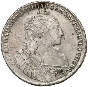 Rosja, Anna, Rubel 1734 -