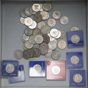 PRL i IIIRP do 1991 - zestaw monet okolicznościowych (~830szt)