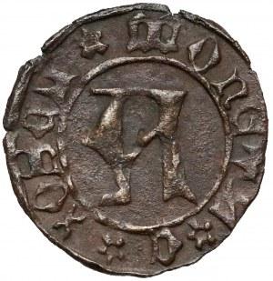Ks. Kozielskie, Konrad VII Biały (1416-1450) Halerz Koźle - litera A