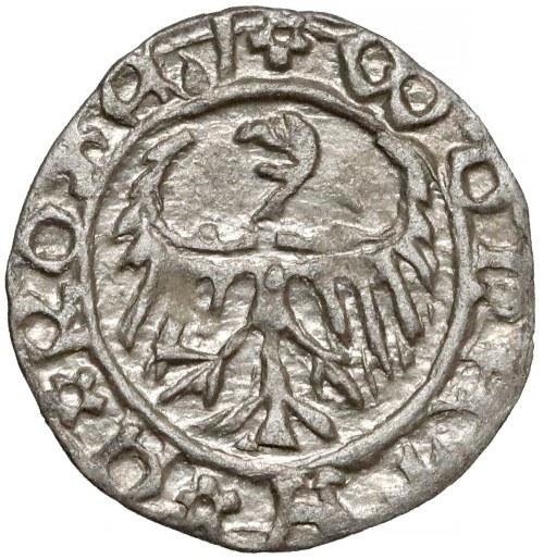 Ks. Kozielskie, Konrad VII Biały (1416-1450) Halerz Koźle - ODWRÓCONY Orzeł