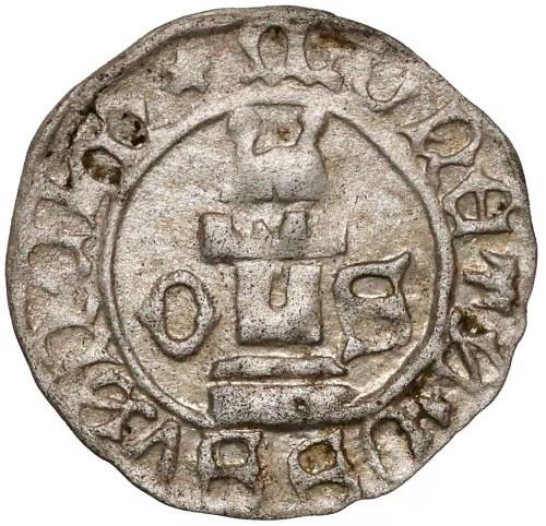 Ks. Oświęcimskie, Wacław I i Jan V (1433-1457) Halerz Oświęcim - SREBRO