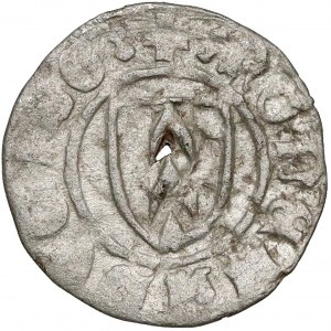 Ks. Opawskie, Przemek I (1377-1433) Halerz Opawa - litera P