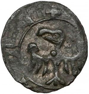 Ks. Raciborskie, Anna (1380-1405?) Halerz Racibórz - litera A - b. rzadki