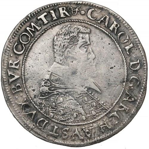 Śląsk, Księstwo Nyskie, Karol Austriacki, Talar Nysa 1618 - RZADKOŚĆ