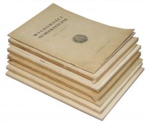 Wiadomości Numizmatyczne 1958-1977 (8szt)