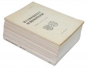 Wiadomości Numizmatyczne 1988-2002 (11szt)
