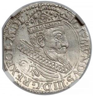 Zygmunt III Waza, Grosz Kraków 1604 - Lewart - NGC MS61