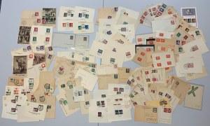 Polska, karty korespondencyjne, pocztówki, m.in.: ze stemplami władz okupacyjnych