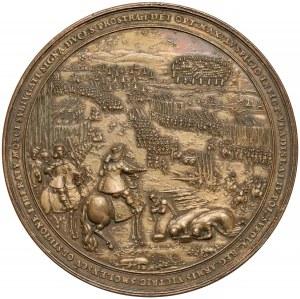 Władysław IV Waza, Medal Smoleńsk - Dadler - późniejsza odbitka z oryg. stempli