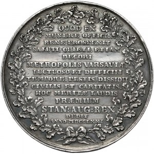 Poniatowski, Medal Stanisław Lubomirski 1771 r. (Holzhaeusser)
