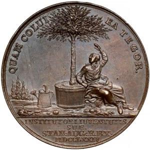 Poniatowski, Medal Antoni Portalupi 1774 r. (Holzhaeusser)