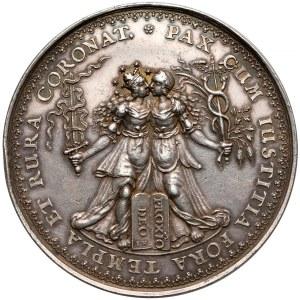 Władysław IV Waza, medal Rozejm w Sztumskiej Wsi 1635 (1642) - HÖHN
