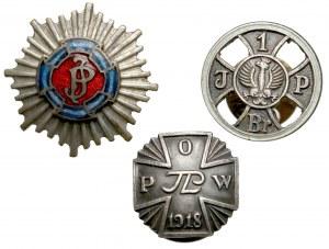 Miniaturki Odznak Wojska Polskiego przed 1939r. (3)