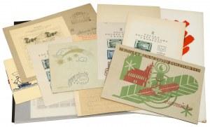 Polska, karty i znaczki, m.in.: Poczta Polowa II Korpusu, Poczta Osiedli polskich w Itali