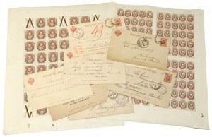 Rosja, całostki i arkusze znaczków