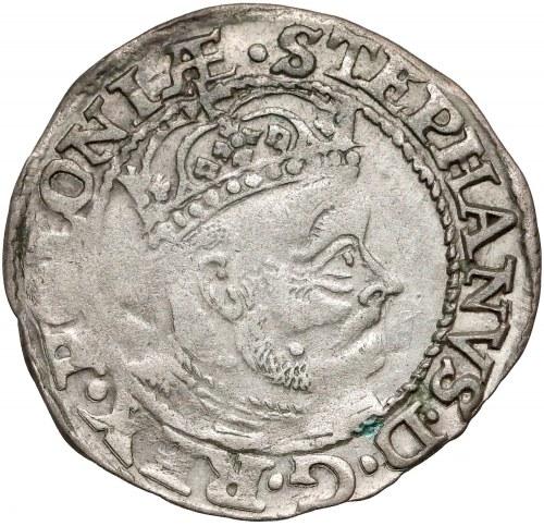 Stefan Batory, Grosz Olkusz 1579 - duża głowa - RZADKI i ładny