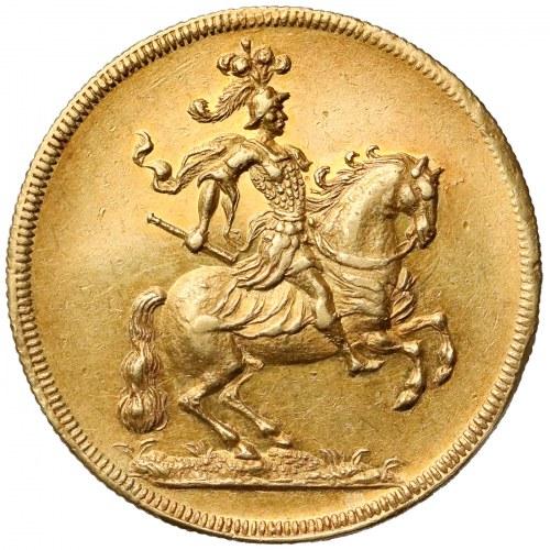 August II Mocny, Dwudukat koronacyjny 1697 - PIĘKNY