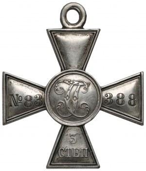 Rosja, Krzyż Świętego Jerzego 3 stopnia, nr 83-388