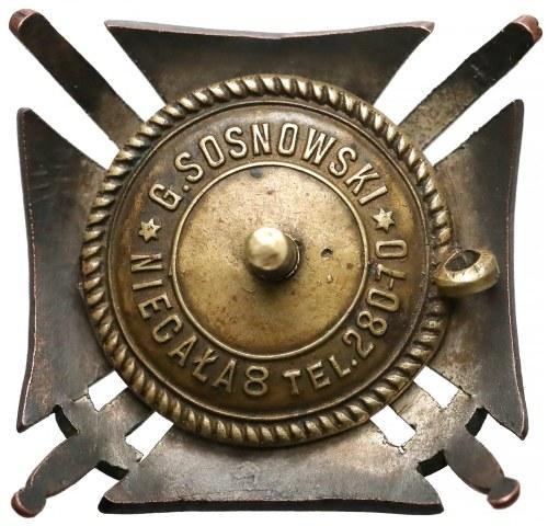 Odznaka, Dywizjon Huzarów Śmierci - bardzo rzadka
